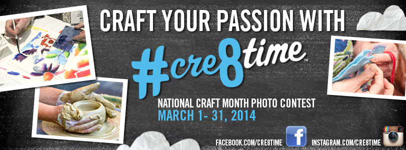 Craft your passion with #cre8time