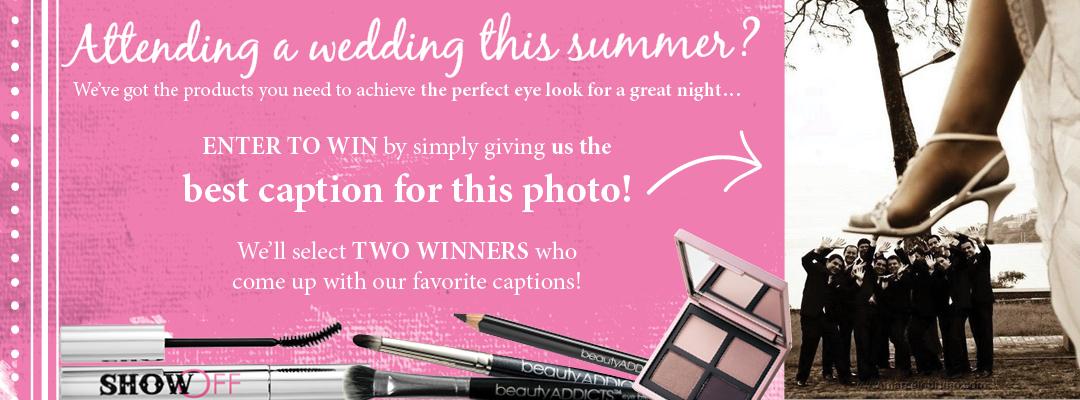 wedding guest caption contest