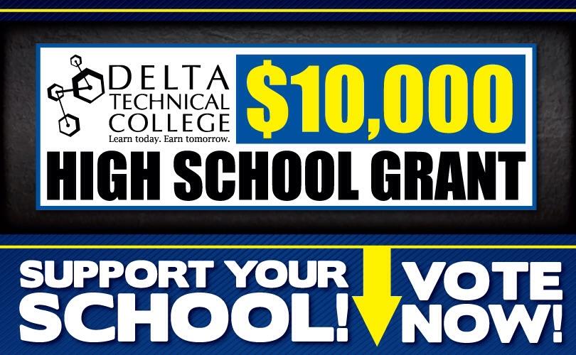 Delta Tech $10,000 High School Grant Program