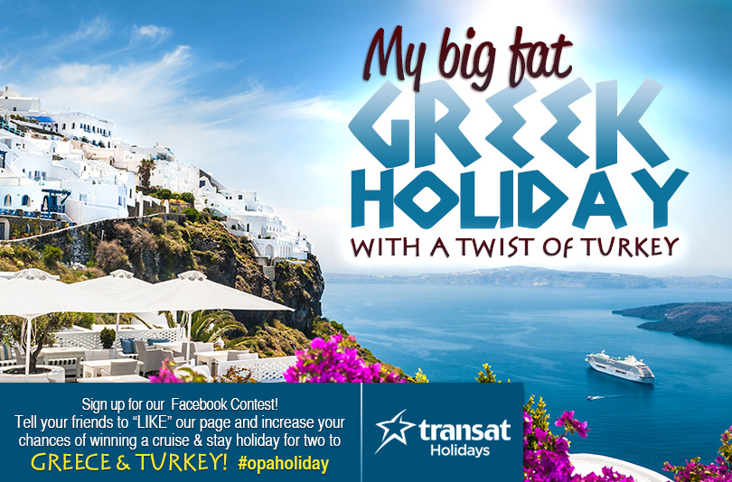 Contest: Win a Trip to Greece and Turkey - Your Contests Canada