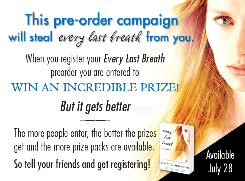 Pre-order EVERY LAST BREATH by Jennifer Armentrout