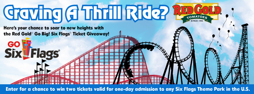 Enter The Six Flags Giveaway