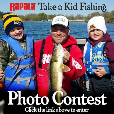 Rapala take a kid fishing photo contest for Take a kid fishing