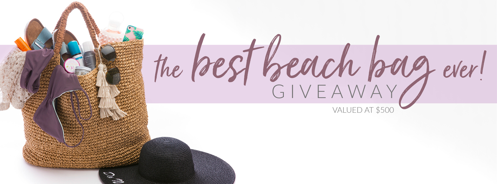 The Ultimate Beach Bag Giveaway | South Moon Under