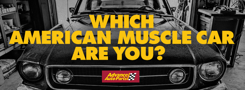 American Muscle Car Quiz Advance Auto Parts Diy Garage Blog
