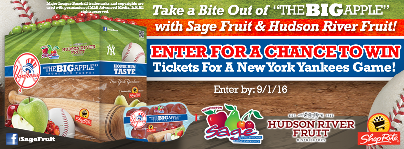 Take a Bite Out of the BIG APPLE Sweepstakes