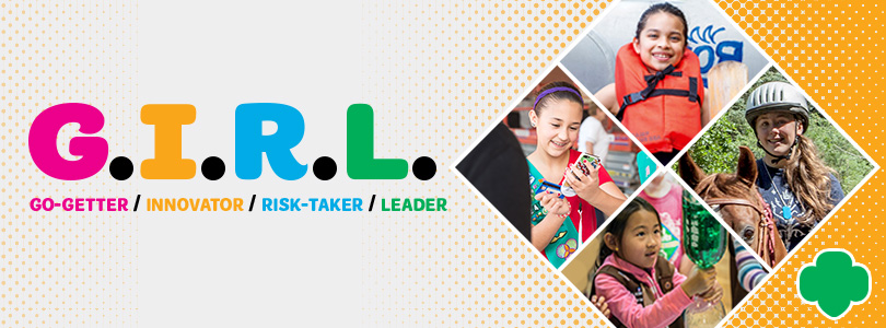 photograph about What Kind of Leader Are You Printable Quiz called G.I.R.L. Quiz - Woman Scouts