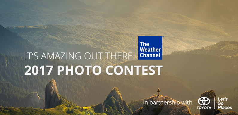 The Weather Channel 2017 Photo Contest