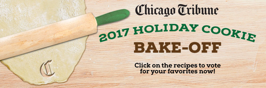 Chicago Tribune 2017 Holiday Cookie Bake-Off