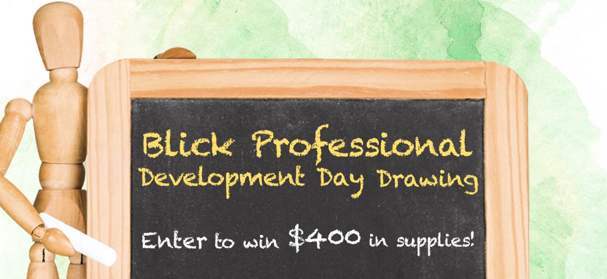 6180f86bcad Professional Development Day - BLICK art materials