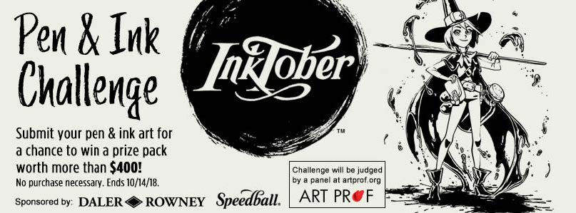 0389939066d Pen and Ink Challenge - Blick Art Materials