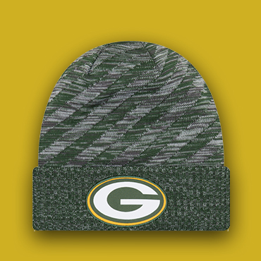 5f3ab0f2377915 Tell : New Era Packers Cap Faceoff - 2018 Winter Sideline -
