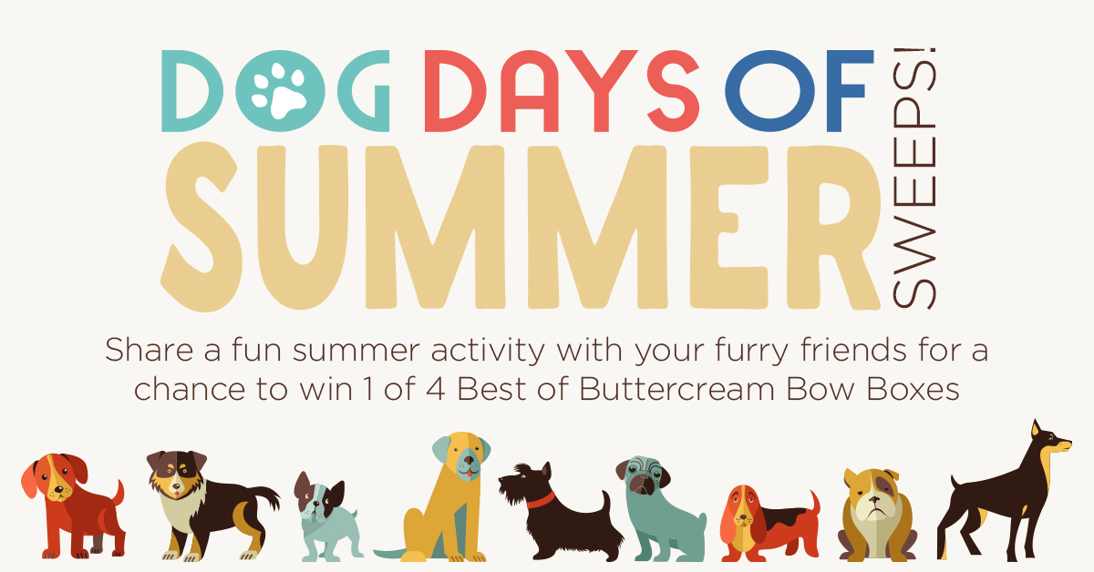Dog Days of Summer Sweepstakes!