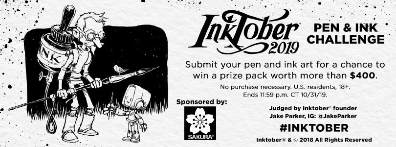 Inktober Pen & Ink Challenge