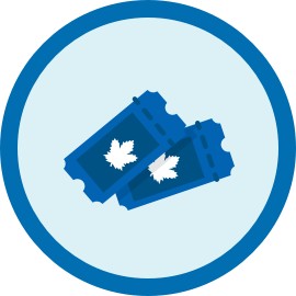 Leafs tickets icon