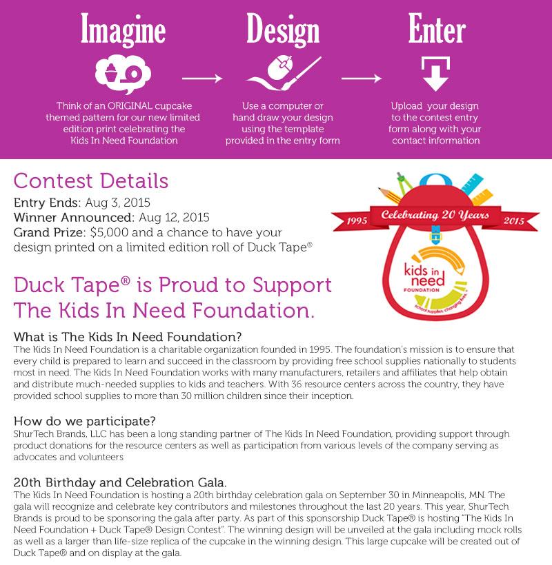 Duck Brand Contest