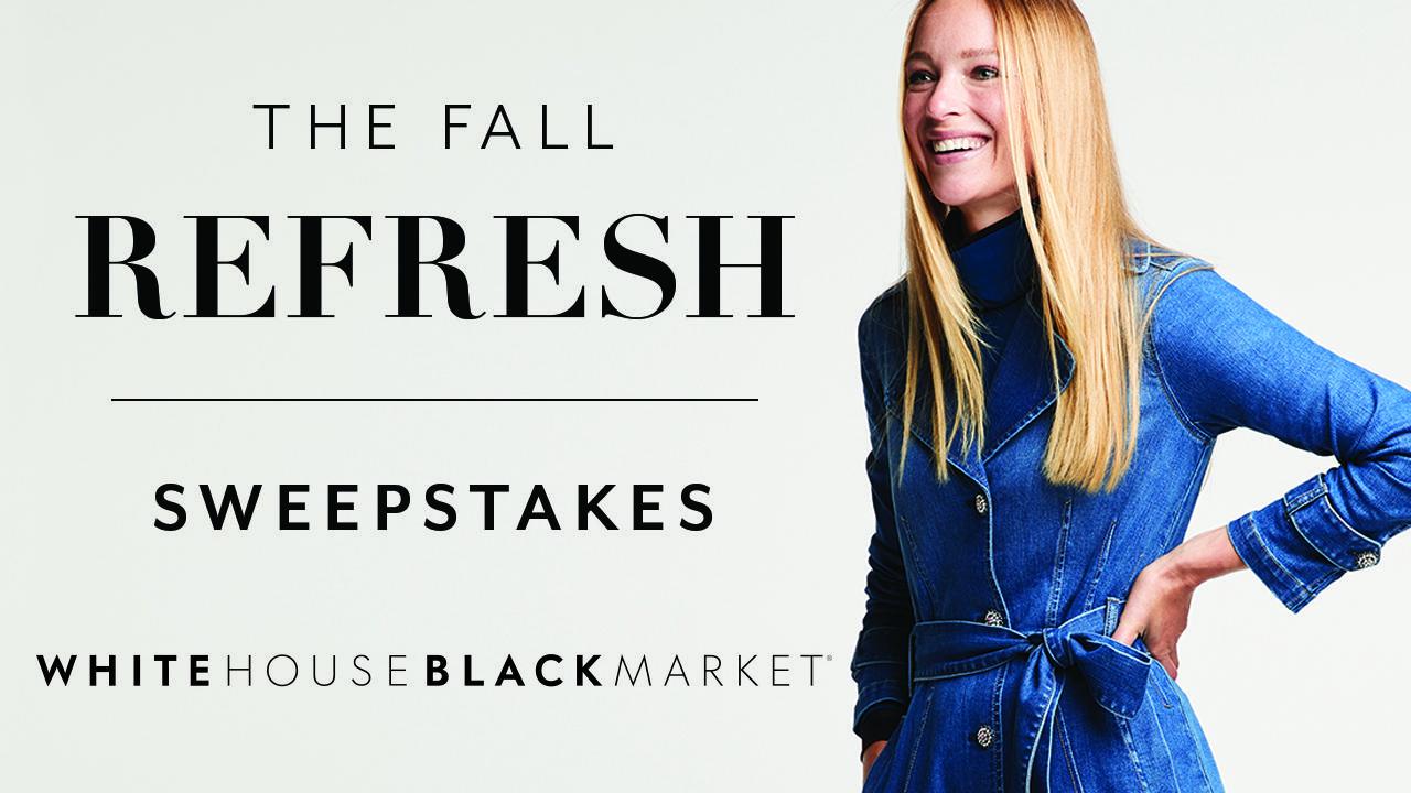 White House Black Market Fall Fashion Sweepstakes