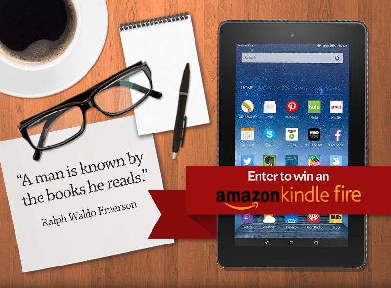 Enter to win an Amazon Kindle Fire