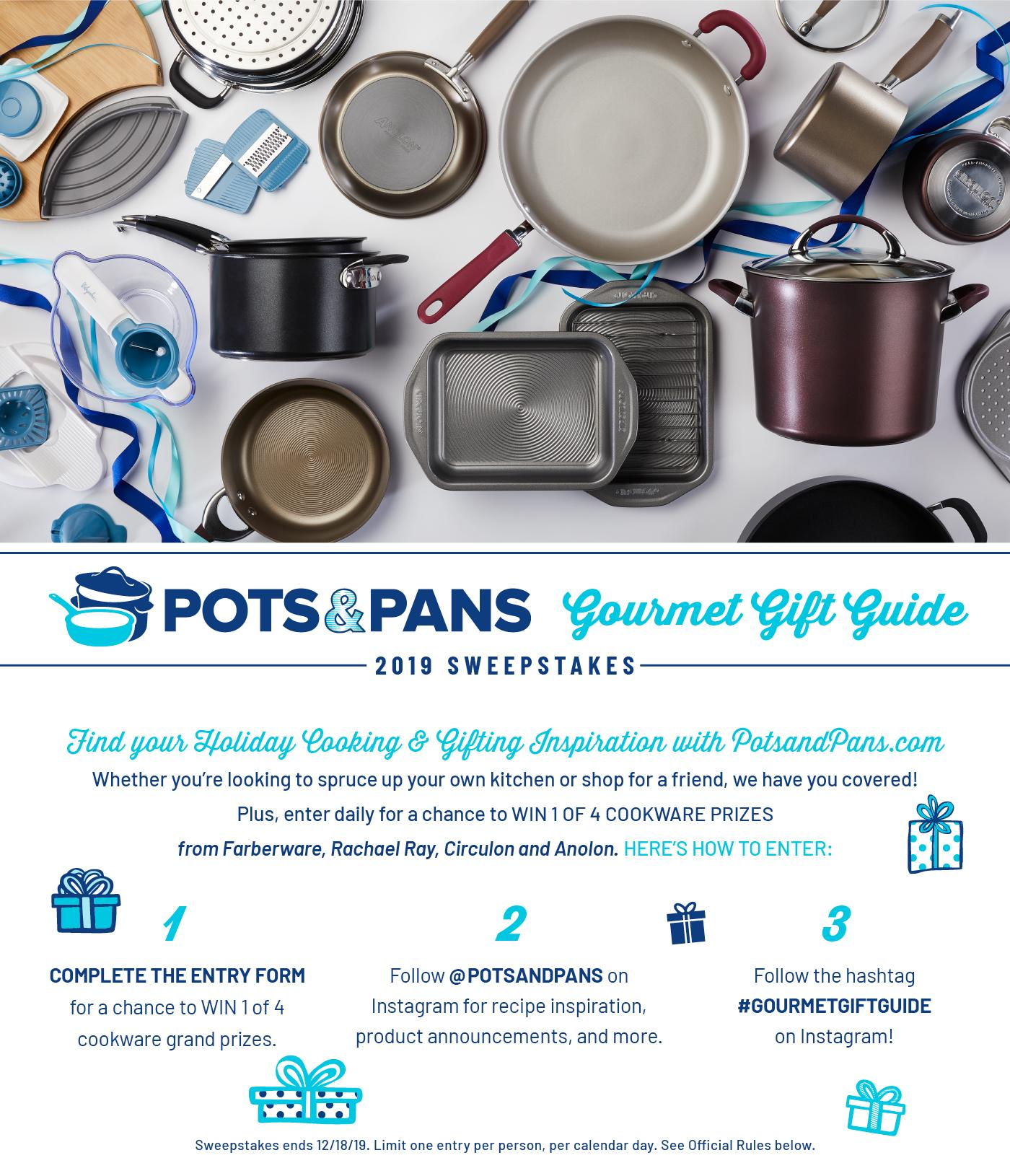 Sweepstakes - Pots and Pans