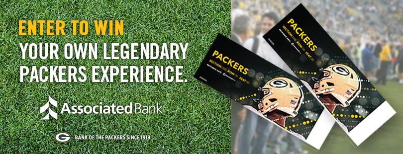 2019 Packers Sideline Pass & Ticket Sweepstakes