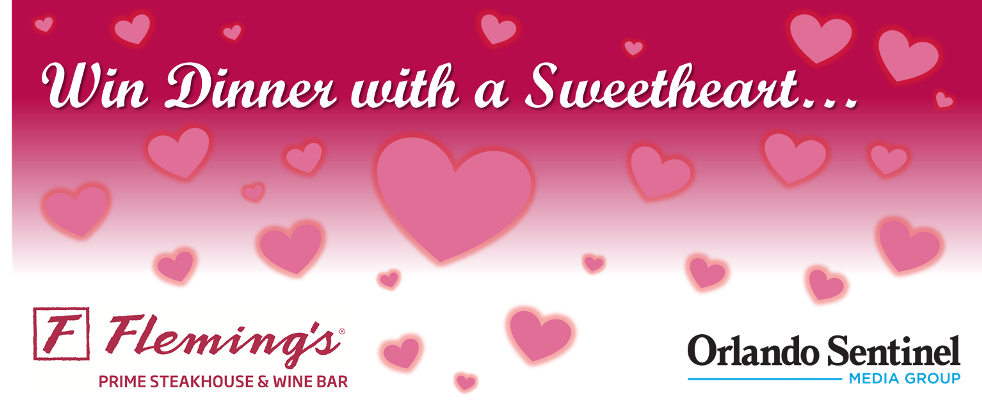 valentines day sweepstakes orlando sentinel - Orlando Valentines Day