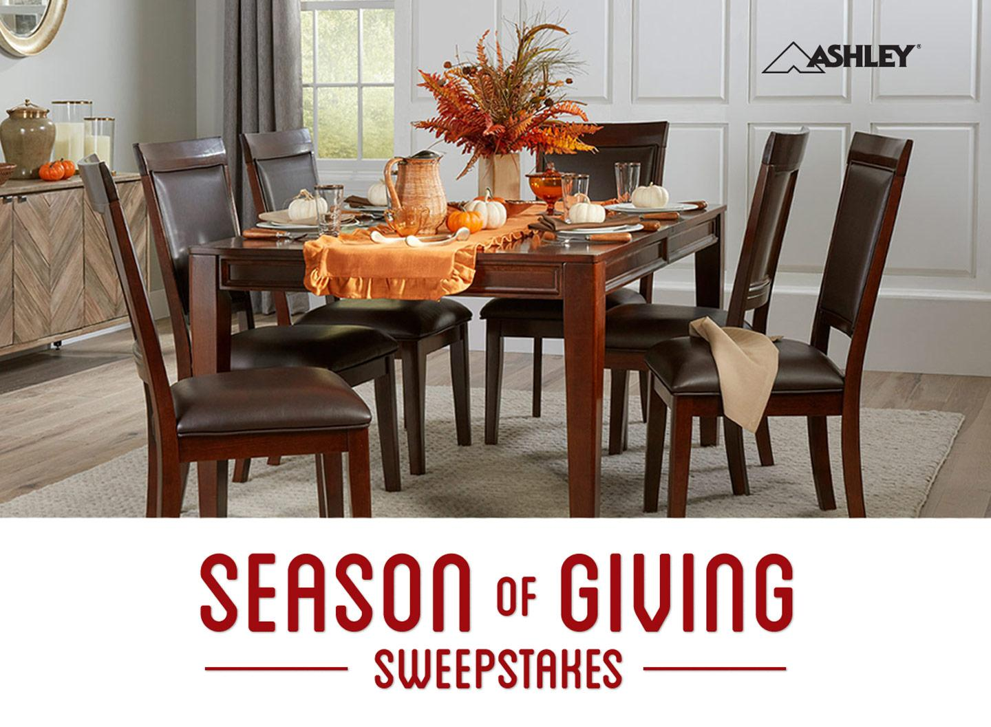 Elegant Season Of Giving Sweepstakes