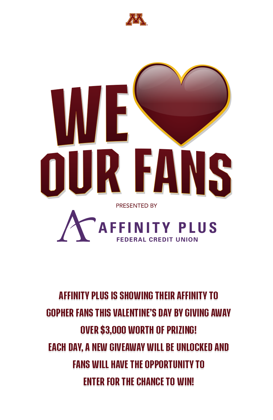 Affinity Plus Enter For A Chance To Win University Of Minnesota Athletics