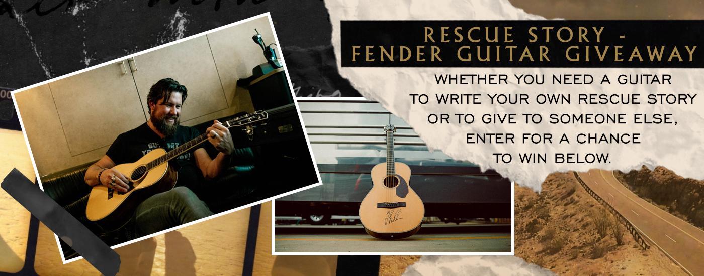 ZW Fender Guitar Giveaway! — ZACH WILLIAMS
