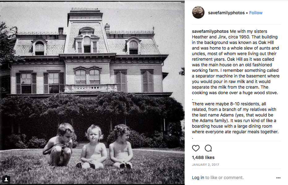Brother and sisters, their story on the Instagram feed of SaveFamilyPhotos.com