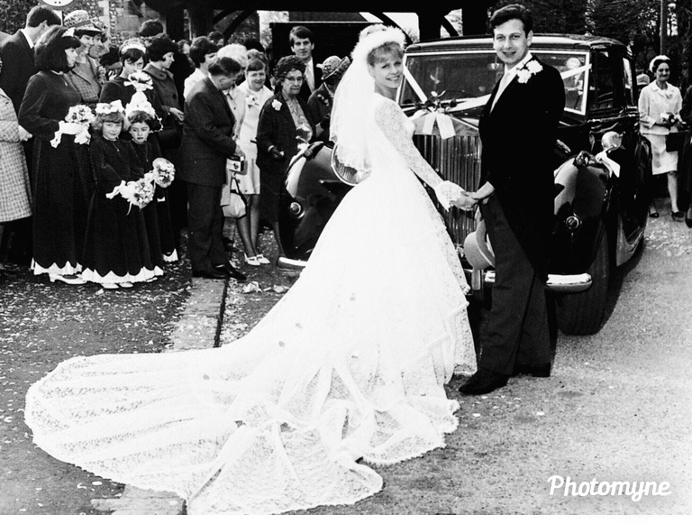 My wedding day 52 years ago, Southwick, West Sussex, United Kingdom 1967. Shared by Vera Groves