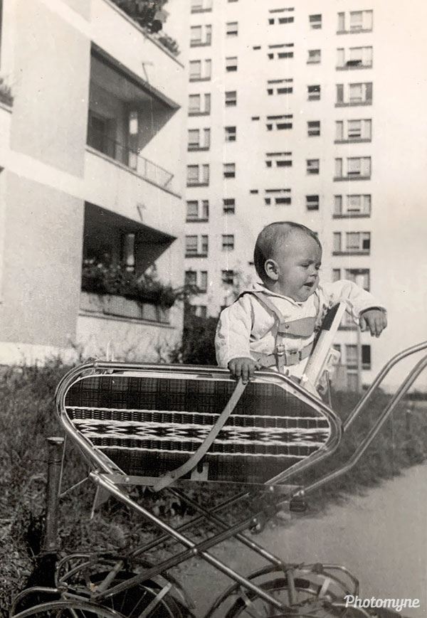 This is me in Bucharest Romania, 50 years ago when I was a year old and looking very happy... Romania 1969