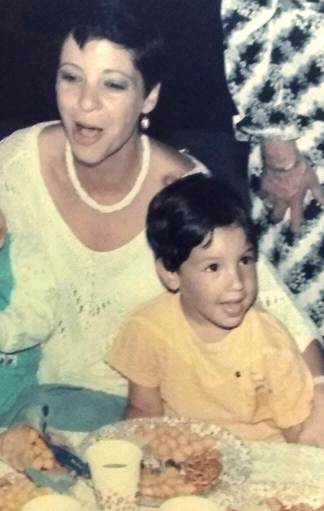 Boaz Amit, Marketing Manager - Me and my mom at my birthday party.