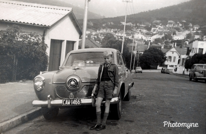 Peter On Kloof Street, Cape Town - 1954. Shared by Hilda Coetzee