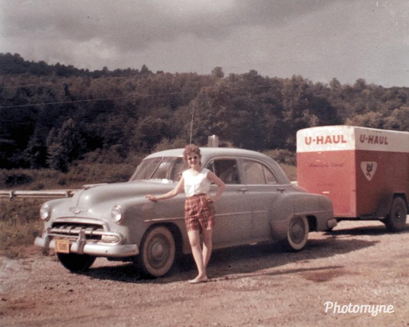 Moving to North Carolina - 1959. Shared by Jennifer Hunkins