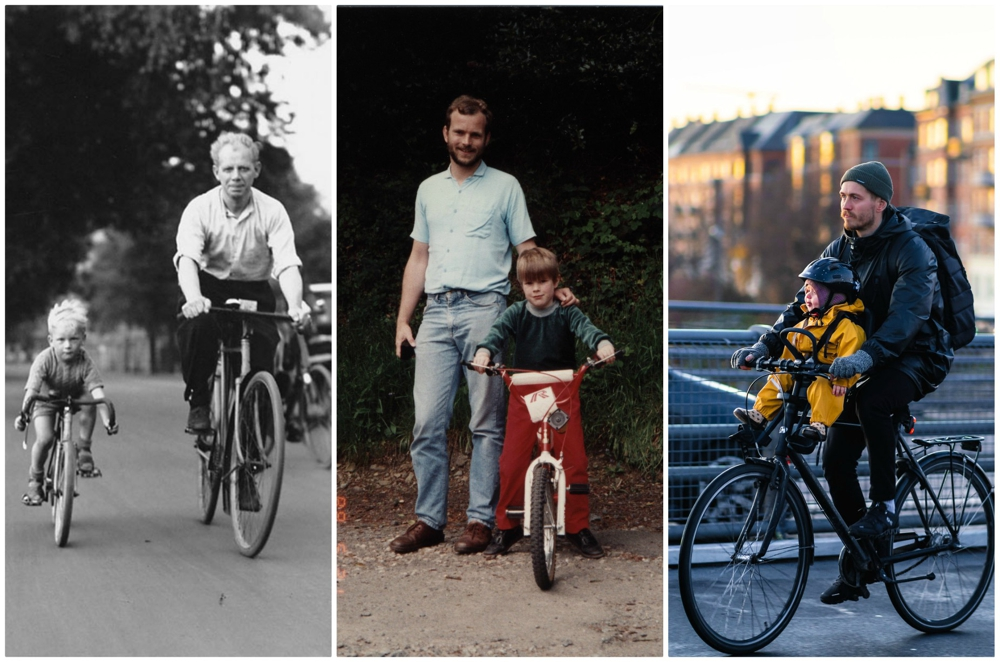 Partners on the road, no training wheels required. Via Creative Commons