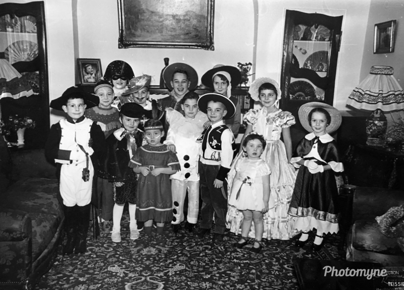 I was 9 years old and my hero was Zorro. My mother invited my close friends and family for a birthday party at home. She made my costume. It was a time of happiness with no worries, except school - Marseille, France, 1965 - Photo credit: Frederic Landes