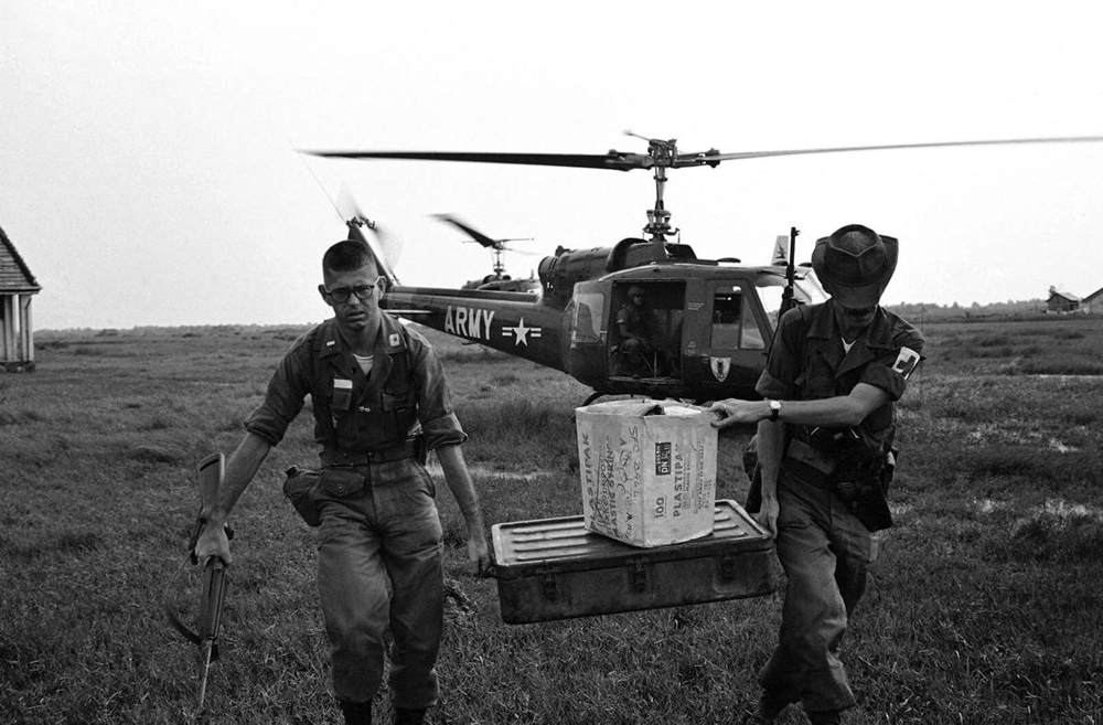 Medics on the move. Via Creative Commons