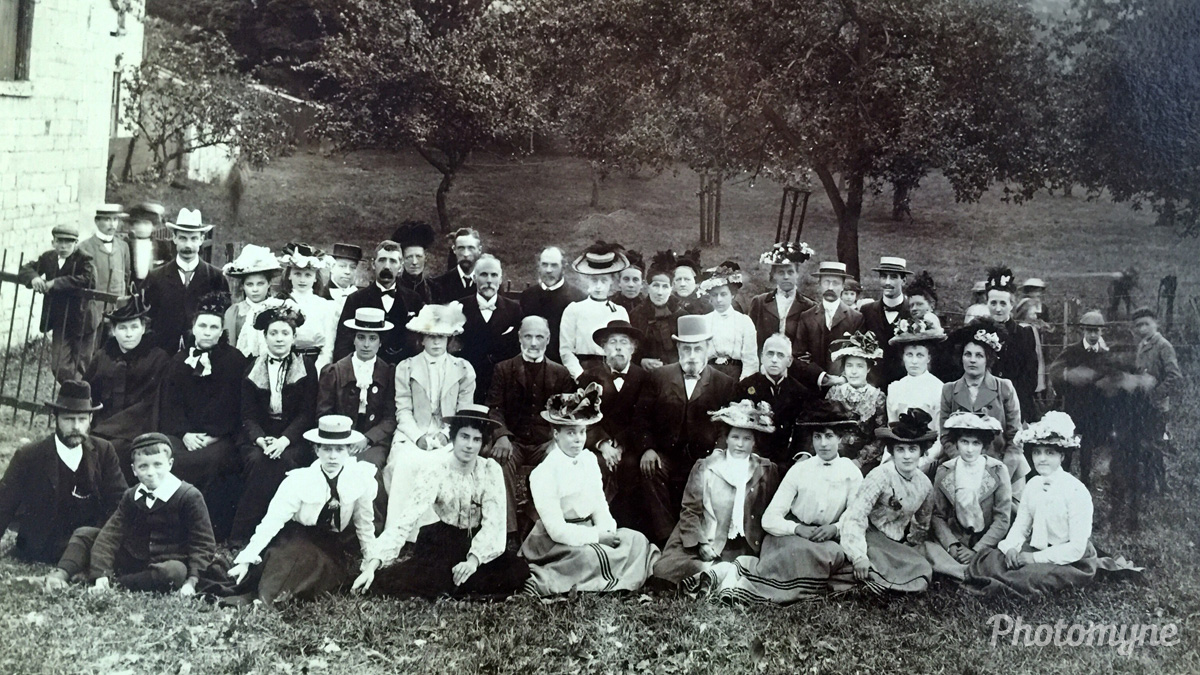 My great grandmothers Sunday school outing, United Kingdom, 1913