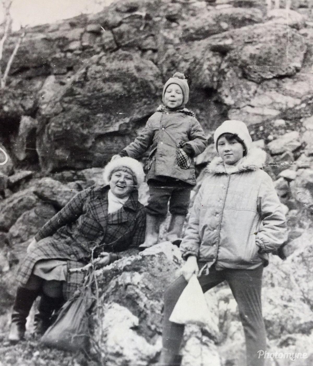 Прогулка!))) (Stroll!))), Murmansk, Russia, 1985
