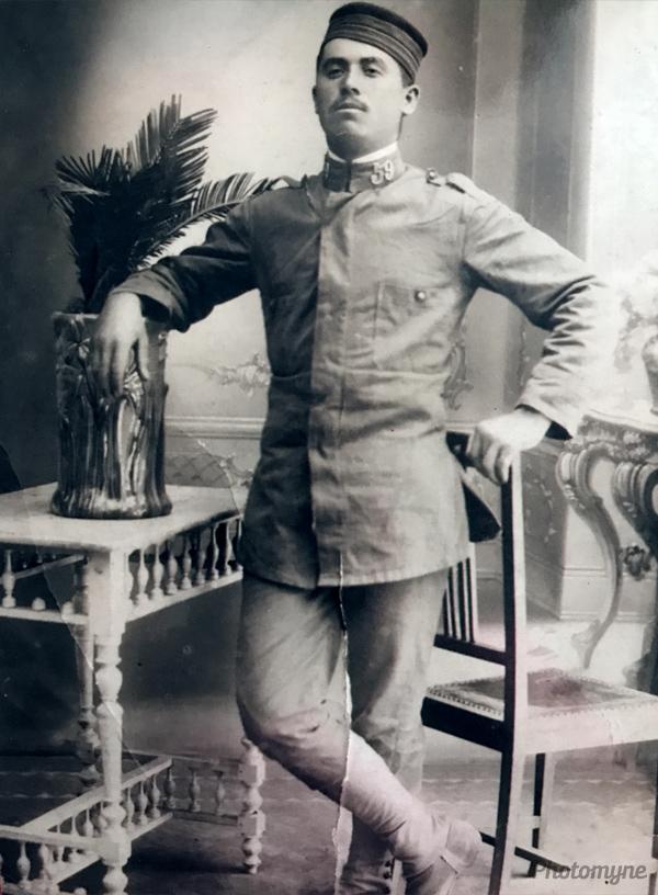 Mi abuelo domingo (My grandfather Domingo). Spain 1918