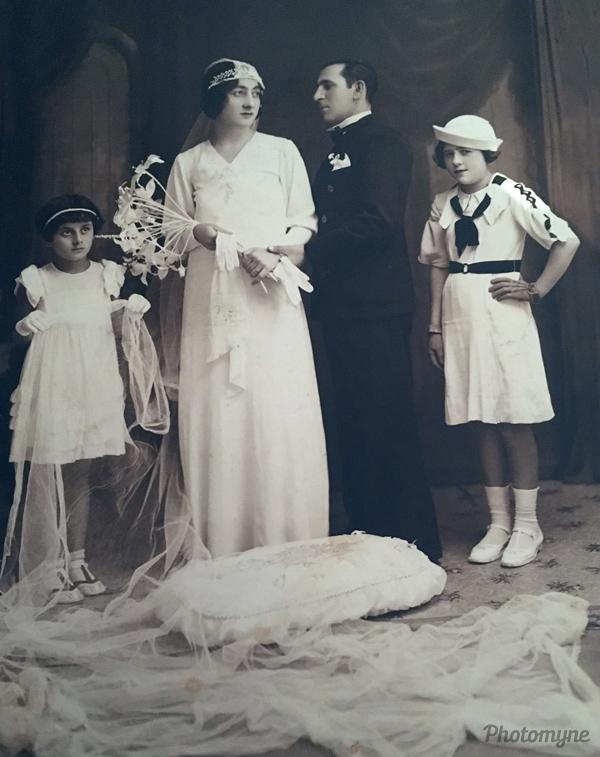 Casamento tia Rosa (Aunt Rosa's wedding). Brazil 1920