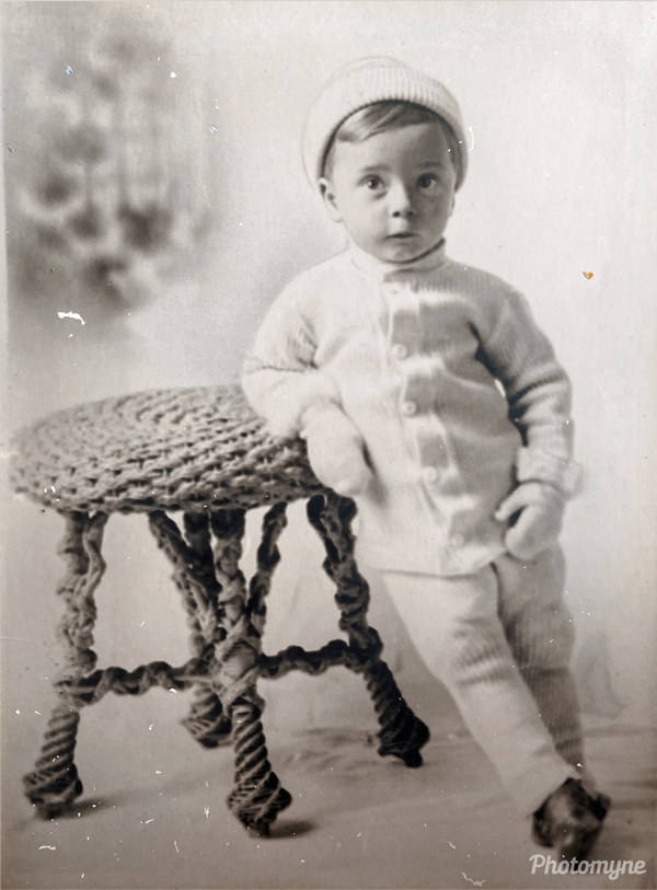 Great Uncle Butch at age 4. USA (year unknown)