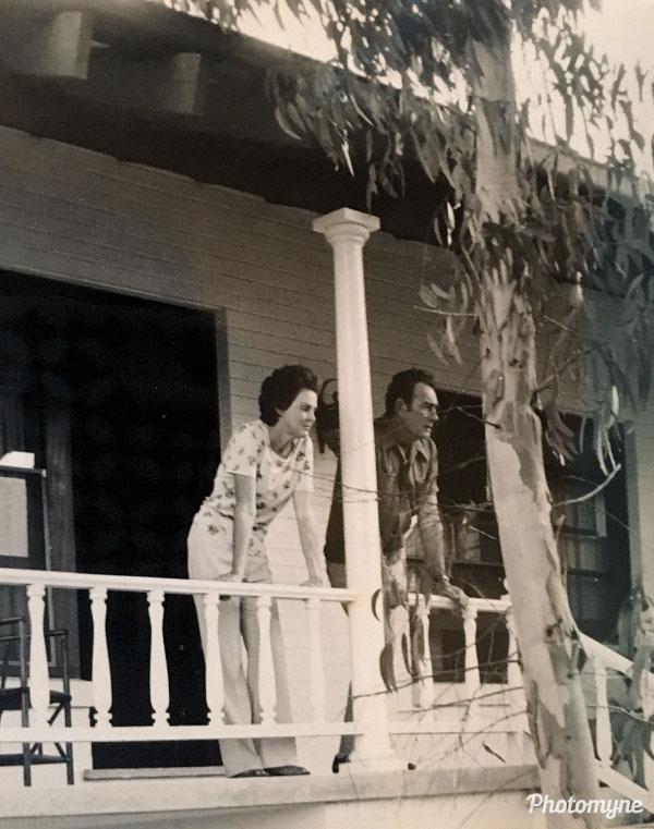 Gladys and Jim Rainford. Australia 1975