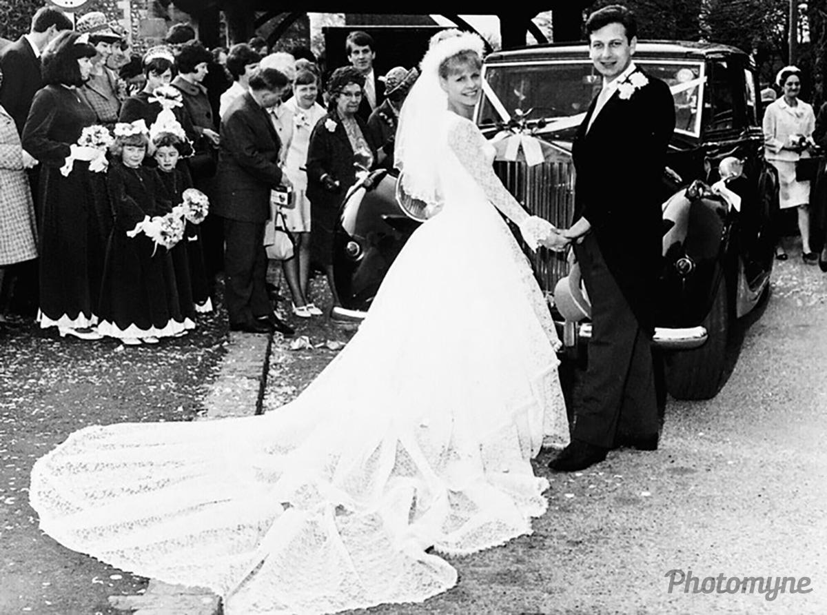 My wedding day 50 years ago, Southwick, West Sussex, United Kingdom, 1967