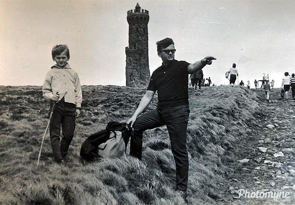 Erste Wanderung (First hike). Germany 1966