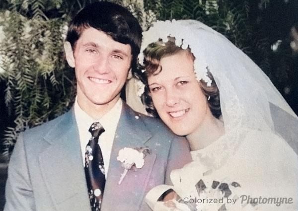 My wedding day. Zimbabwe 1977