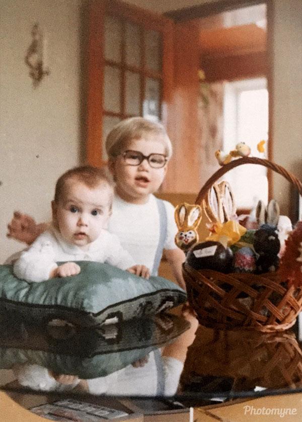 Easter. Ontario, CA 1971