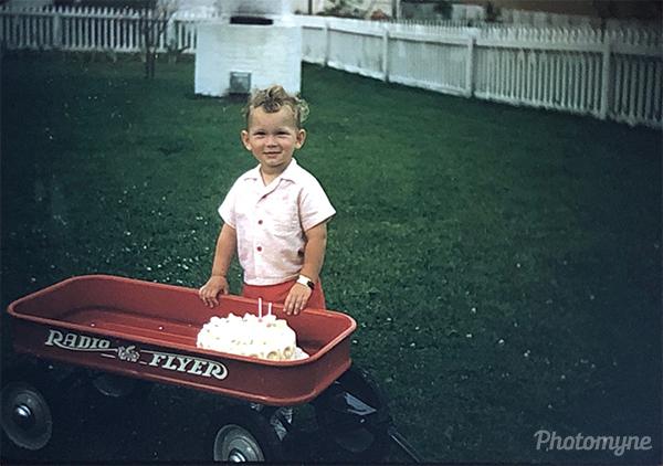 Second birthday. WI, USA 1954