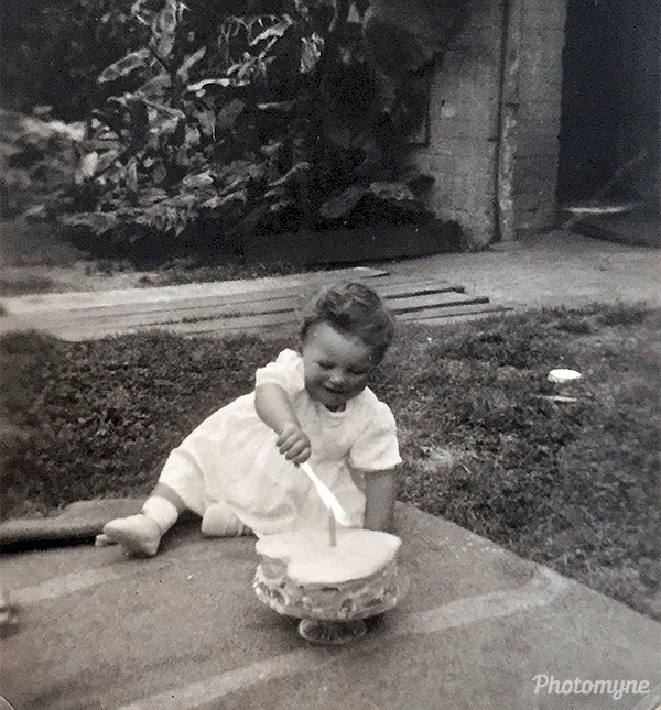 First birthday. NSW, Australia 1947