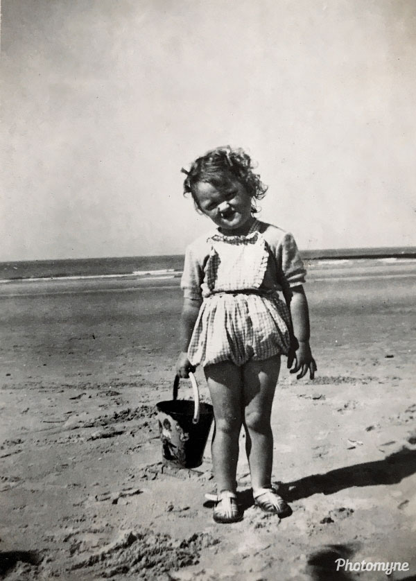 Aan zee (By the sea). Belgium 1951